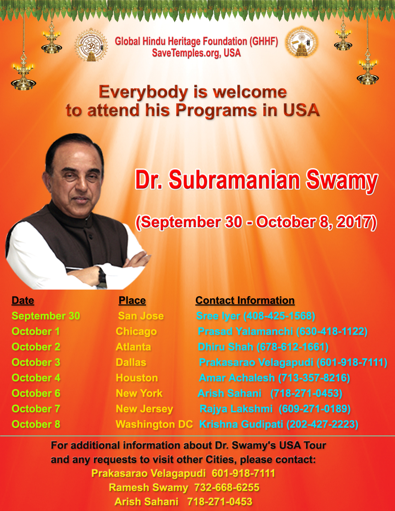 Image result for subramanian swamy in UsA pictures